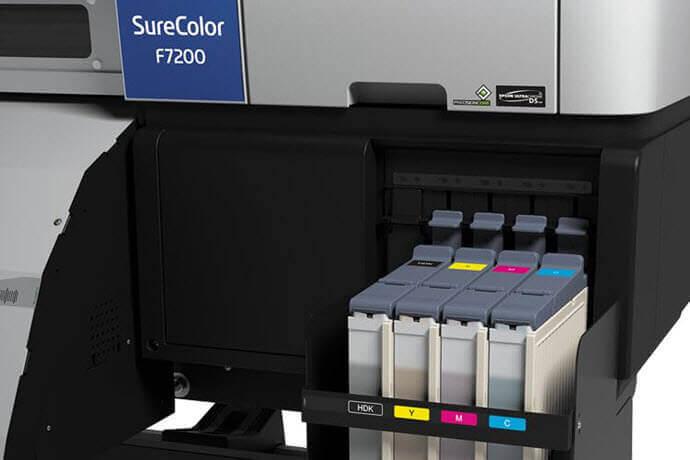 Plotter sublimación Epson SureColor F7200 CARTUCHOS