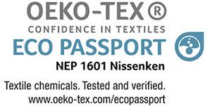 Tinta de sublimación. Certificado OEKO-TEX