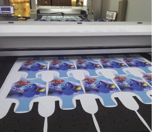 Plotter de corte textil láser