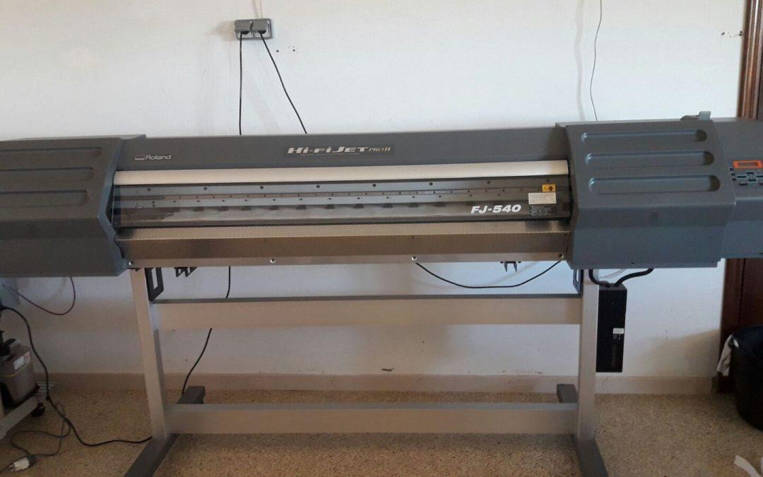 Plotter de ocasión Roland FJ540 – 3.250.€